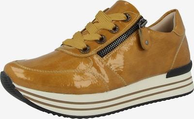 REMONTE Sneakers laag 'D1302' in de kleur Mosterd / Zwart, Productweergave