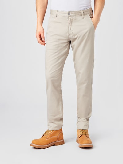 Dockers Chino hlače 'ALPHA' u sivkasto bež, Prikaz modela