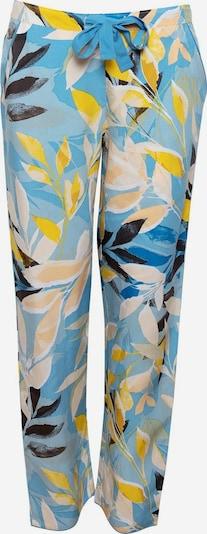 Cyberjammies Pantalon de pyjama en beige / bleu clair / jaune / noir, Vue avec produit