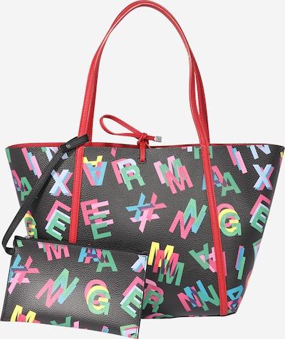 ARMANI EXCHANGE Shopper in hellblau / grün / pink / schwarz, Produktansicht