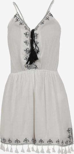 DreiMaster Vintage Jumpsuit en negro / blanco natural, Vista del producto