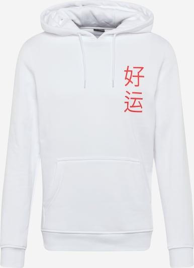 Mister Tee Sweatshirt 'Waving Cat' in de kleur Goud / Rood / Zwart / Wit, Productweergave