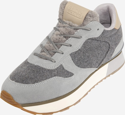 CAMEL ACTIVE Sneaker 'Fog' in camel / grau / rauchgrau, Produktansicht