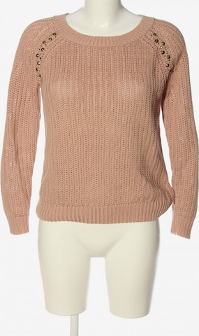Bershka Sweater & Cardigan in S in Pink