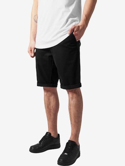 Urban Classics Pantalon chino en noir, Vue avec modèle