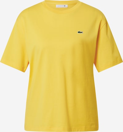 LACOSTE T-Shirt in gelb, Produktansicht