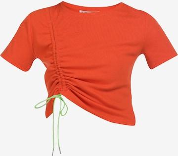 myMo ATHLSR Shirt in Oranje