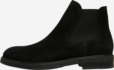 SELECTED HOMME Chelsea Boots en noir, Vue avec produit