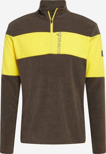 BRUNOTTI Športen pulover 'Vaughn' | rumena / siva barva, Prikaz izdelka