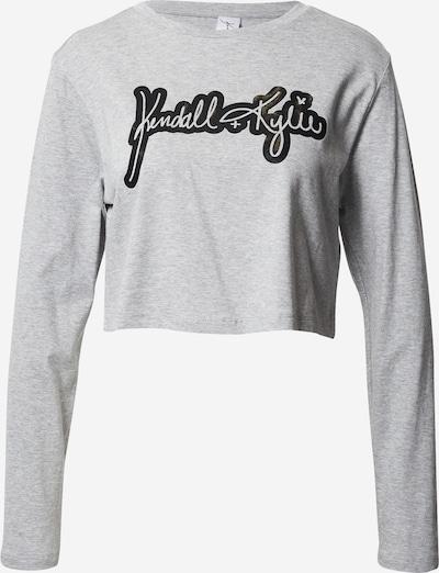 KENDALL + KYLIE Majica u siva / crna, Pregled proizvoda