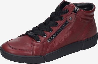 ARA Augstie brīvā laika apavi 'ROM', krāsa - sarkans, Preces skats
