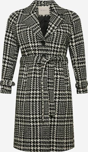 Palton de primăvară-toamnă 'Carfandanga Life' ONLY Carmakoma pe negru / alb, Vizualizare produs