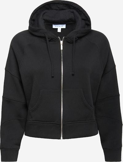 NU-IN Plus Sweatjacke in schwarz, Produktansicht