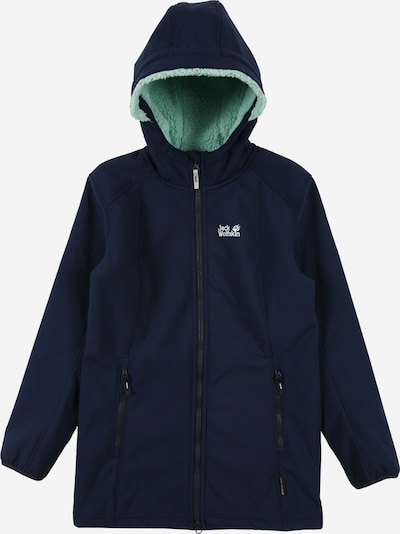 JACK WOLFSKIN Outdoor jacket 'KISSEKAT' in turquoise / dark blue, Item view