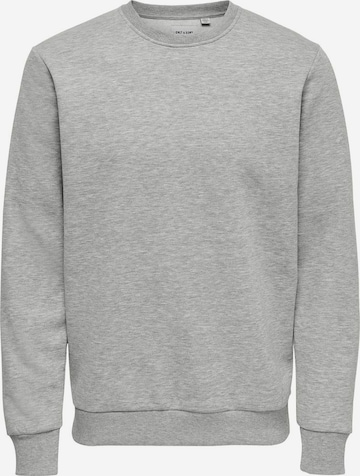 Only & Sons Sweatshirt 'Ceres' in Grey