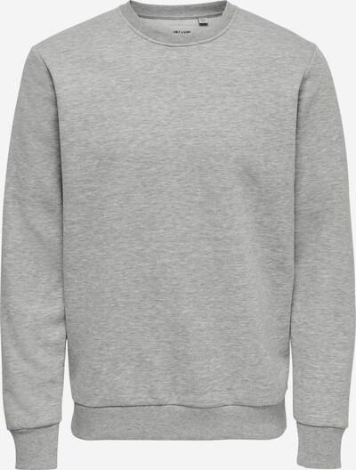 Only & Sons Sweatshirt 'Ceres' in hellgrau, Produktansicht