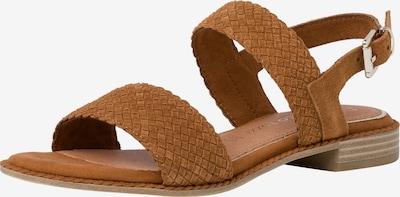 Sandale cu baretă MARCO TOZZI pe maro coniac, Vizualizare produs