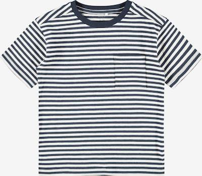 NAME IT Majica 'Louis' u morsko plava / bijela, Pregled proizvoda