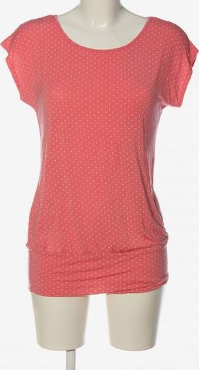 LASCANA Kurzarm-Bluse in S in rot / wollweiß, Produktansicht