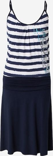 Soccx Jurk in de kleur Blauw / Wit, Productweergave