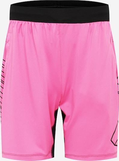 ADIDAS PERFORMANCE Pantalon de sport 'HYPE' en rose / noir, Vue avec produit