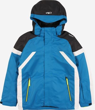 CMP Sportjacke in blau / schwarz / weiß, Produktansicht