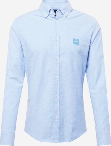 BOSS Casual Hemd 'Mabsoot' in Blau