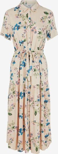 OBJECT Vestido camisero 'Paree' en beige / azul real / mostaza / verde hierba / rosa pastel, Vista del producto