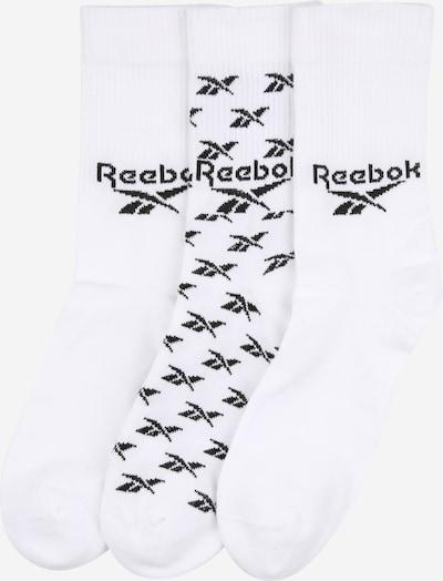 Șosete Reebok Classic pe negru / alb, Vizualizare produs