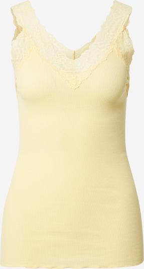 rosemunde Haut en jaune pastel, Vue avec produit