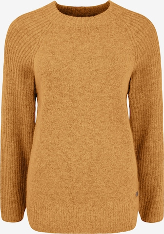 Oxmo Sweater 'Gianna' in Yellow