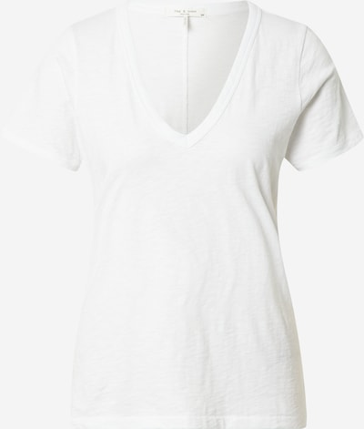 rag & bone Shirt 'The Slub V' in white, Item view