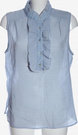 Josephine & Co. ärmellose Bluse in L in blau / weiß, Produktansicht