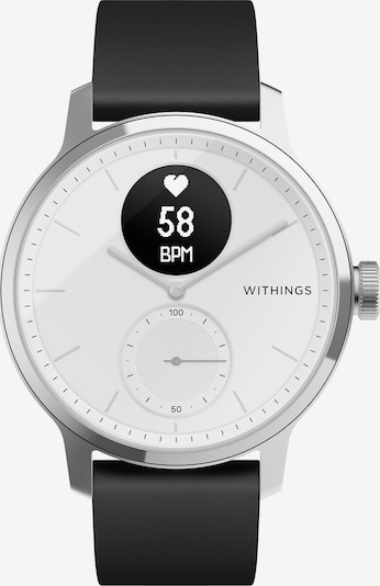 Withings Analog Watch in Black / Silver, Item view