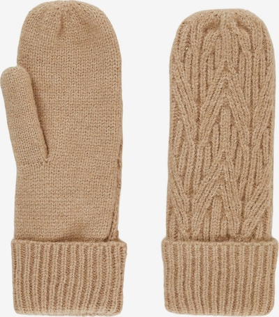 PIECES Mittens in Cappuccino, Item view