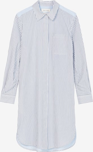 Marc O'Polo Blusenkleid in hellblau / dunkelblau / weiß, Produktansicht