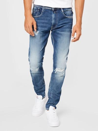 REPLAY Jeans 'BRONNY' in blue denim, Modelansicht