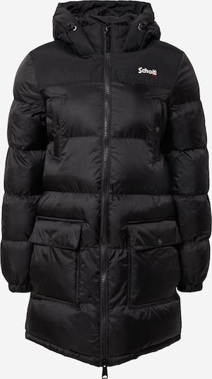 Schott NYC Winterjacke in rot / schwarz / weiß, Produktansicht