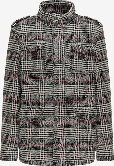 MO Prechodná bunda - pastelovo červená / čierna / biela, Produkt