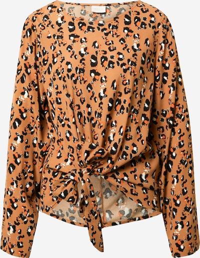 VILA Camiseta 'KITTIE' en beige / cognac / marrón claro / negro, Vista del producto