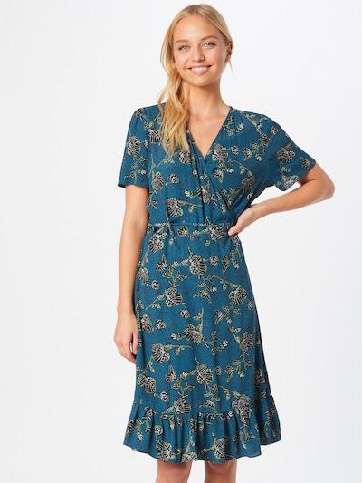 ESPRIT Kleid in türkis / schilf / schwarz / weiß, Modelansicht
