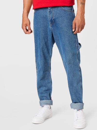 Karl Kani Jeans in blue denim, Modelansicht
