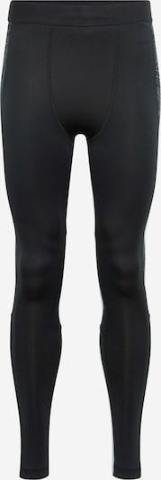 REEBOK Sous-vêtements de sport en graphite / noir / blanc, Vue avec produit