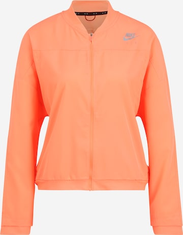 Veste de sport NIKE en orange