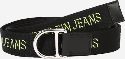 Calvin Klein Jeans Gürtel in hellgrün / schwarz, Produktansicht