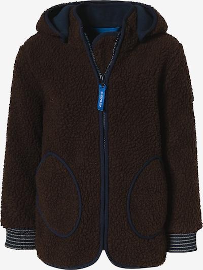 FINKID Fleece Jacket 'TONTTU NALLE' in Dark brown, Item view