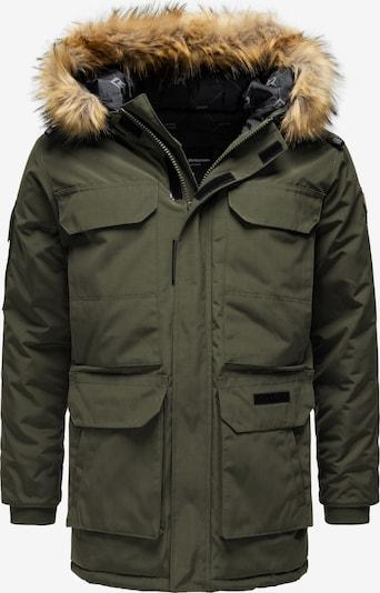 Redbridge Winterjacke 'Toronto' in khaki: Frontalansicht