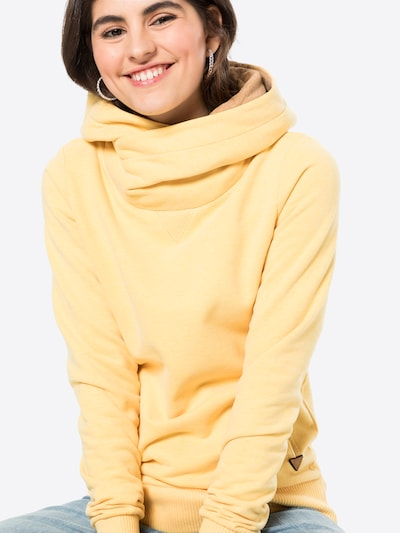 Fli Papigu Sweatshirt 'U Sexy I am Sexy' in gelbmeliert, Produktansicht