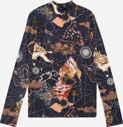 SCOTCH & SODA Shirt in navy / mischfarben, Produktansicht