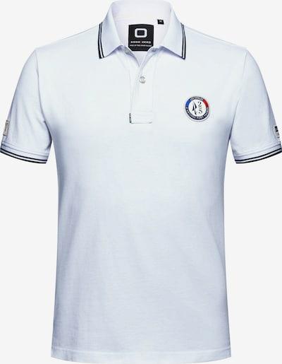CODE-ZERO Poloshirt 'Port Vauban ' in marine / navy / silber / weiß, Produktansicht